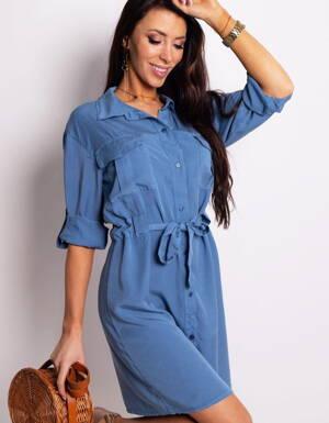 7d6afda9df Košeľové džínsové šaty HANNAH (ey0768)