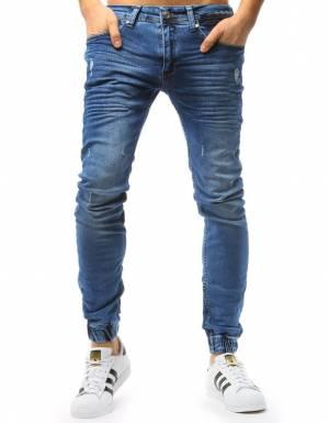 01656fe08702 Pánske jogger nohavice v džínsovom prevedení (ux1759) skl.