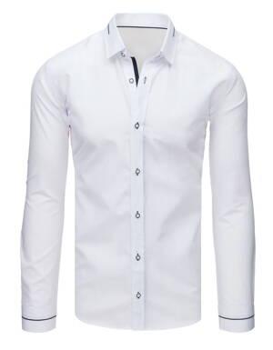 5bfbb3eb80f4 Biela pánska košeľa (dx1612) skl.
