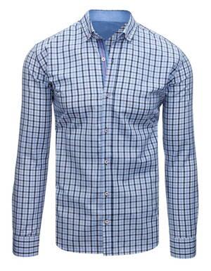b4fe9e6a0f94 Pánska károvaná košeľa (dx1683)