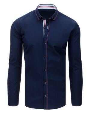 8a9123e23e Granátová pánska košeľa EGO MAN (dx1632)
