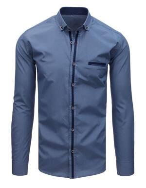fe2dca1e093f Elegantná károvaná pánska košeľa EGO MAN (dx1684)