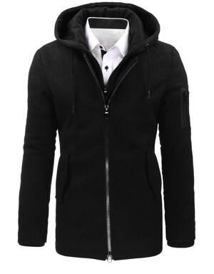 b117439eaf Čierny zimný kabát pre pánov (cx0358) skl.