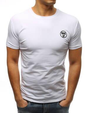 3b4303df703e Jednoduché biele pánske tričko (rx3352)