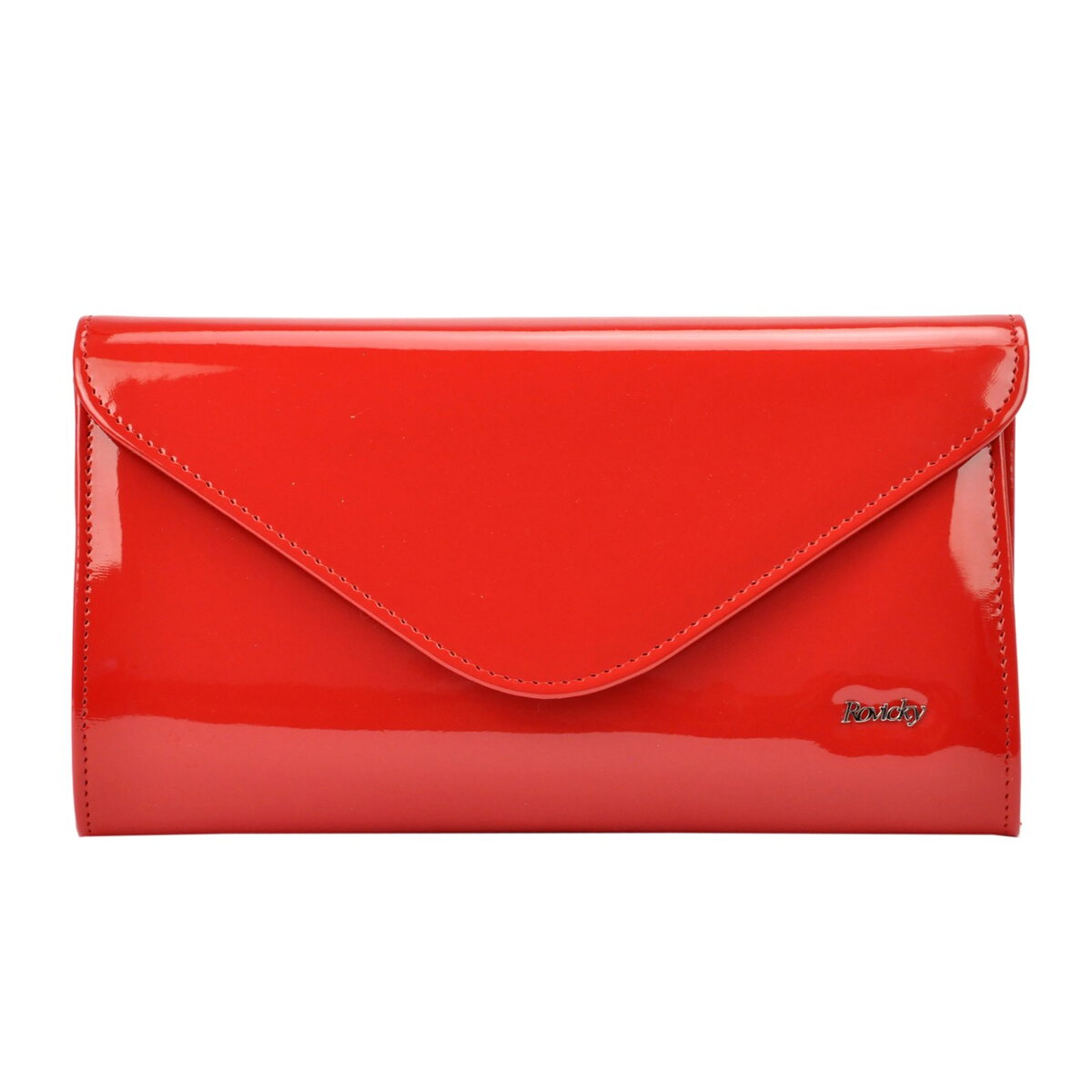 1edfe0e92fd11 ... Červená dámska kabelka do ruky Rovicky W25-L