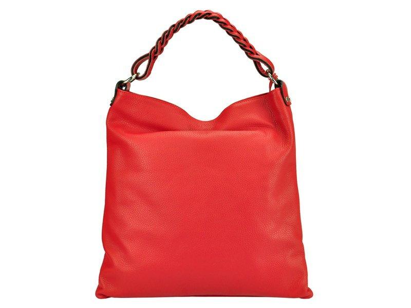 aa004b34f31 Kožená dámska kabelka Pierre Cardin 5318 EDF DOLLARO. Červená Béžová Čierna