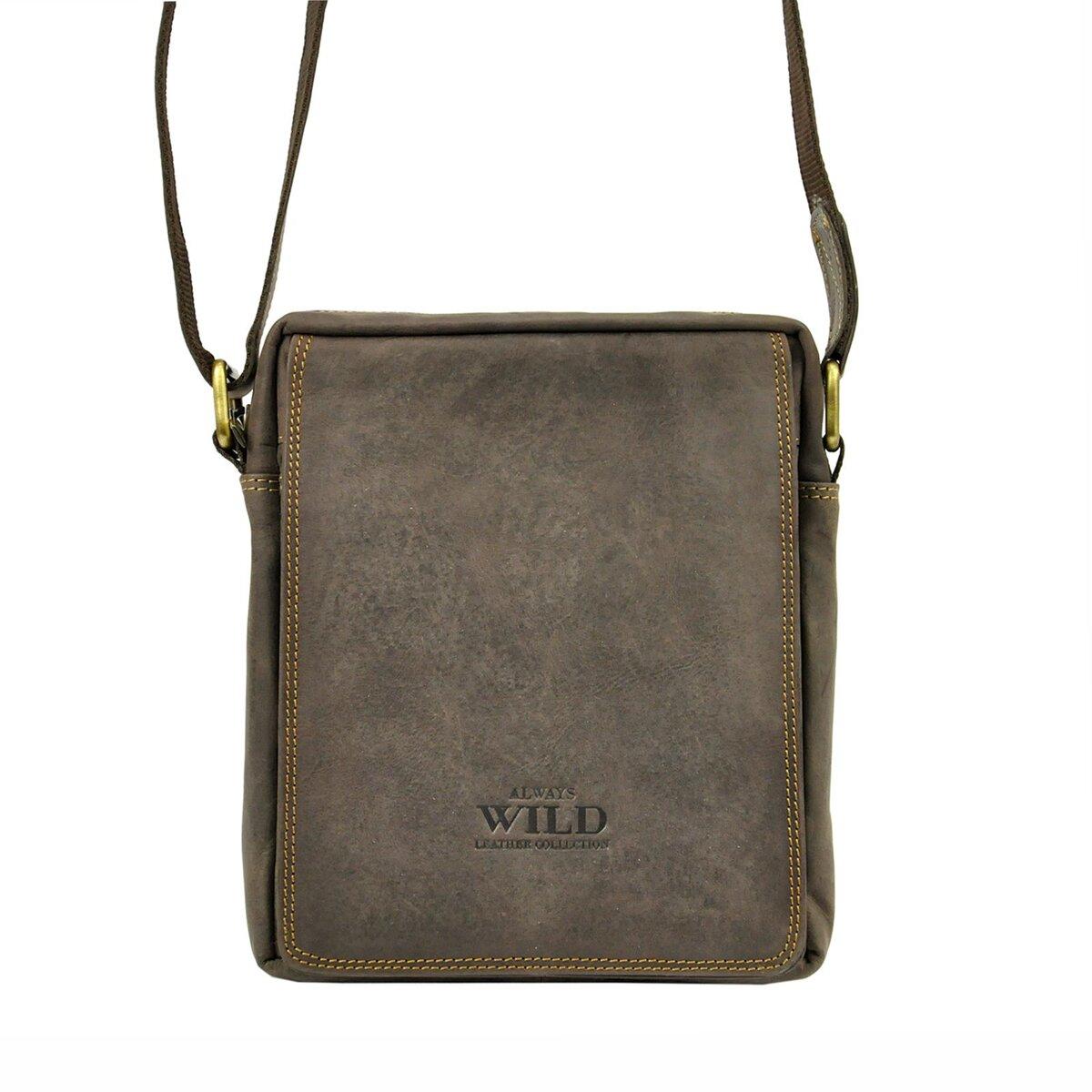 c10510aeae221 Pánska taška na rameno Wild 250589-MH