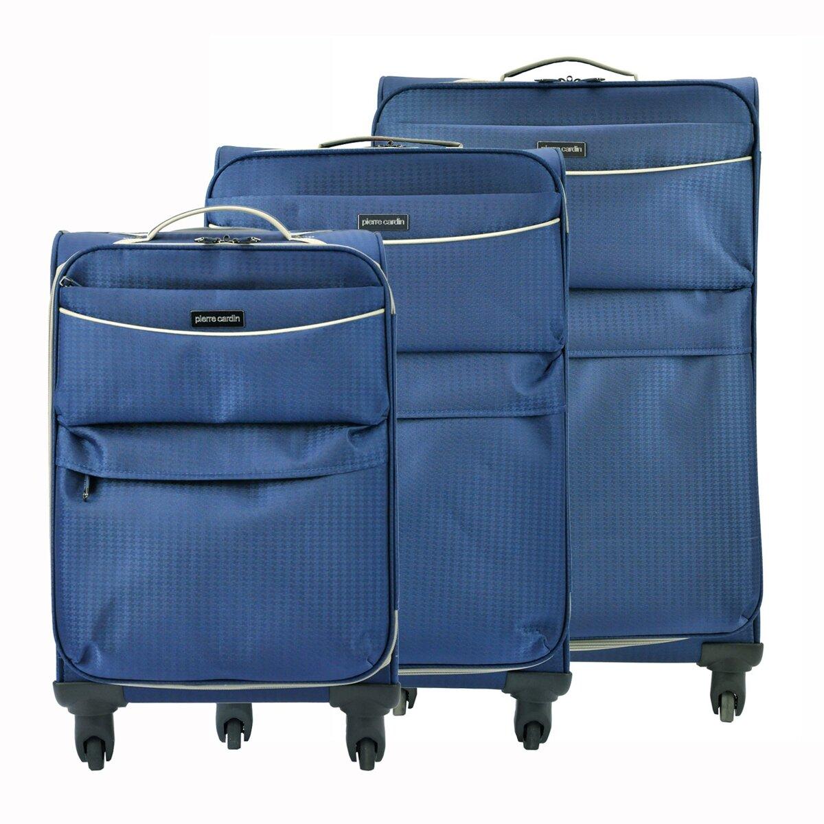 6065b0d70face Sada cestovných kufrov Pierre Cardin DAVID01 SH-6908 x3 Z