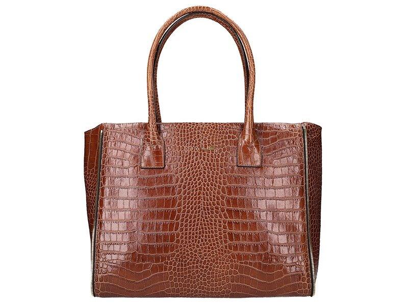 Elegantná kožená kabelka Innue E363 7107bd5c9f5
