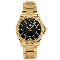 Dámske hodinky s čiernym ciferníkom G.Rossi 10294B-1D1 ddbef1438f