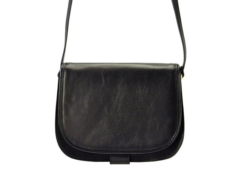Značková dámska kožená kabelka crossbody I Fratelli 5512 a56eab49006