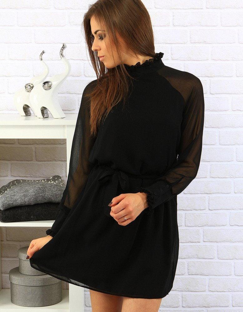 6594cb6d8 Čierne elegantné dámske šaty (ey0232)