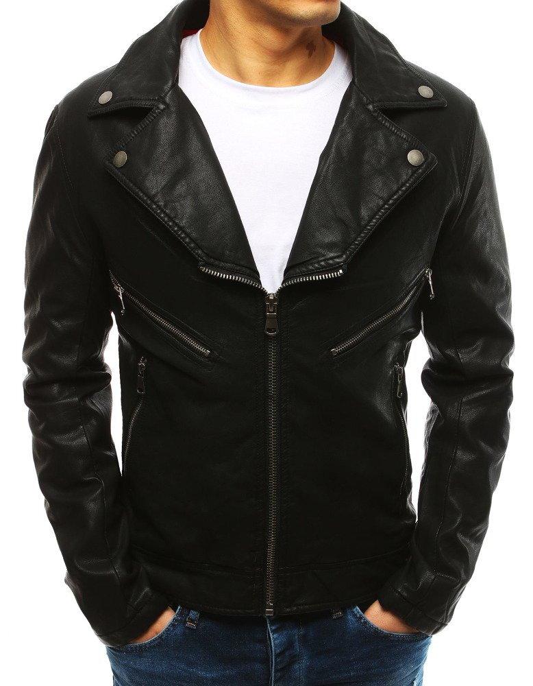 bd6c20d419dc Pánska koženka čiernej farby (tx2622)
