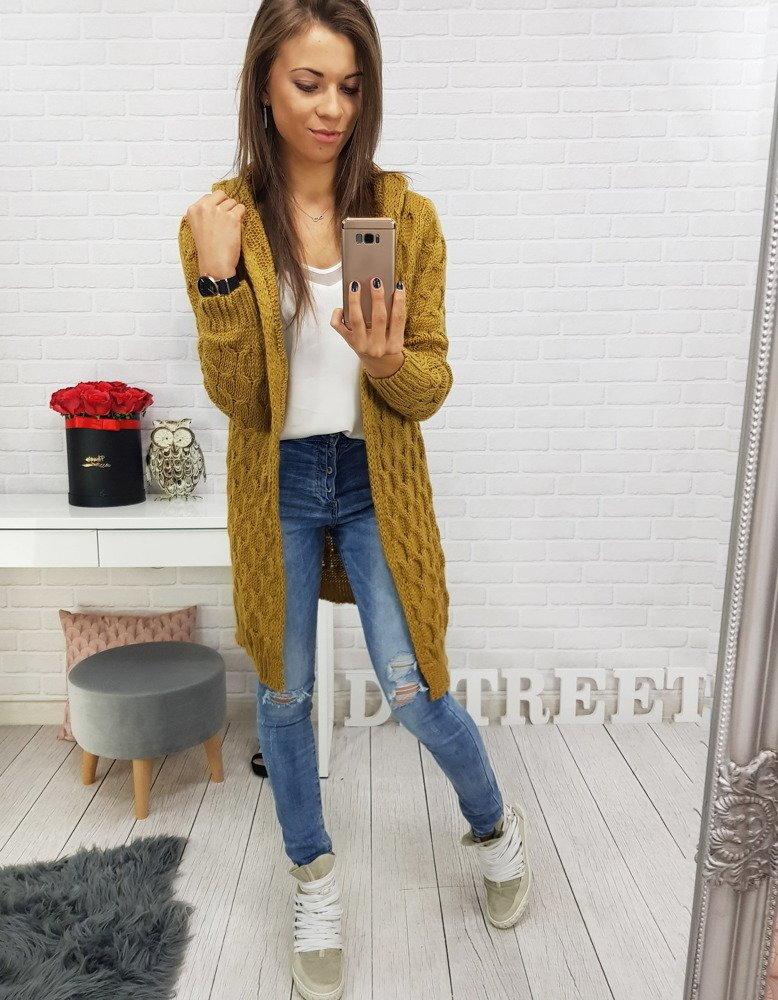9e18d145abdc Pekný dámsky dlhý sveter (my0398)