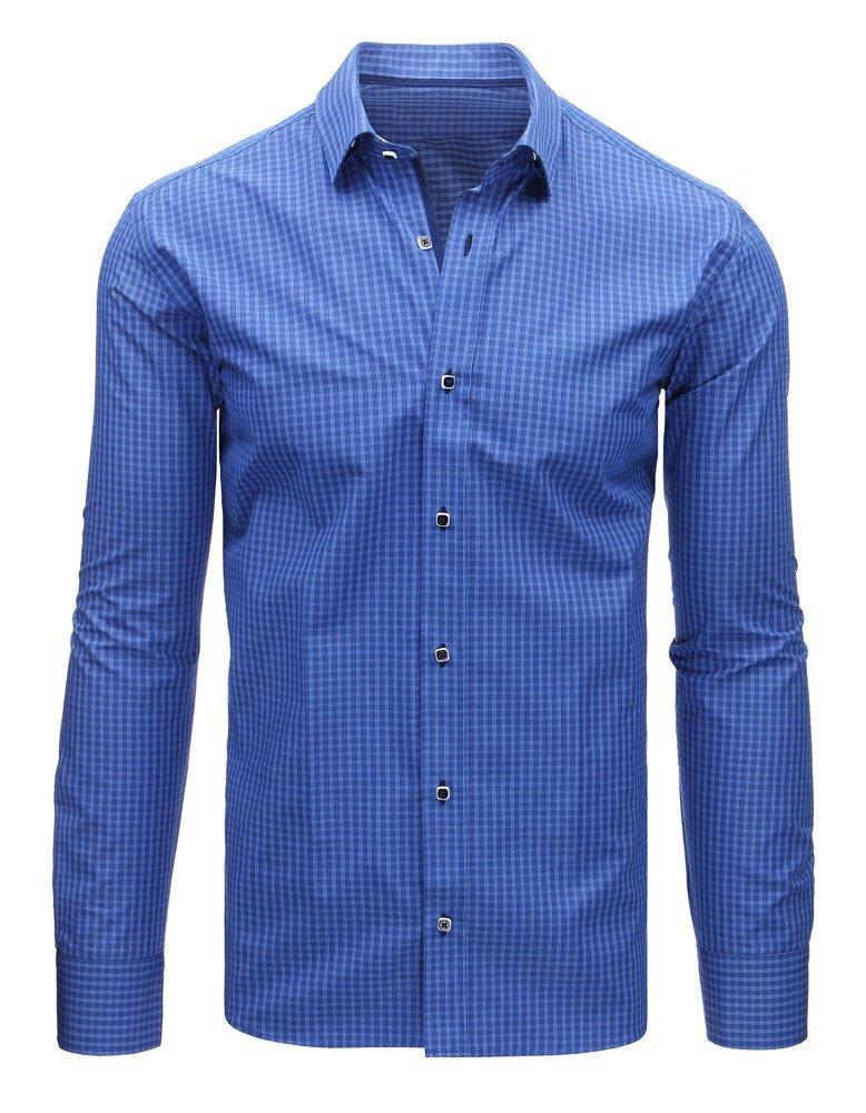 9cb4c34fc33f Trendová pánska košeľa - dlhý rukáv.