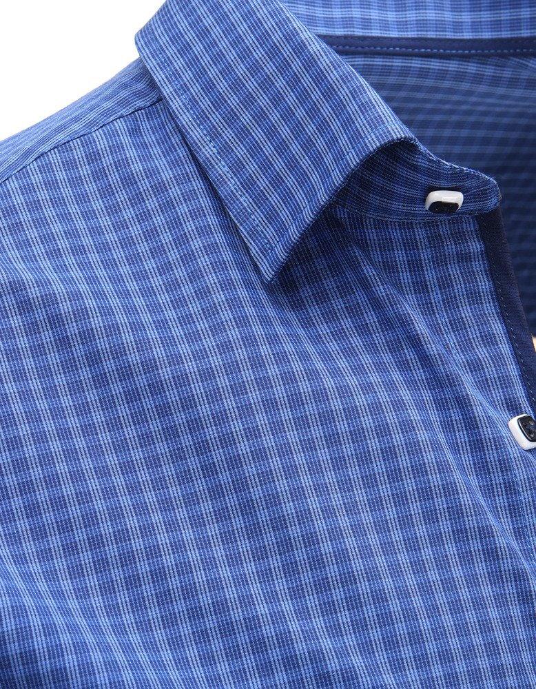 28379a74fe41 Trendová pánska košeľa - dlhý rukáv (dx1465). PrevNext