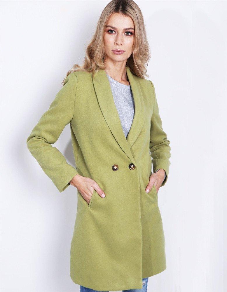 Dámsky jarný kabát hráškovej farby (ny0221). PrevNext 6f4e76e6b33