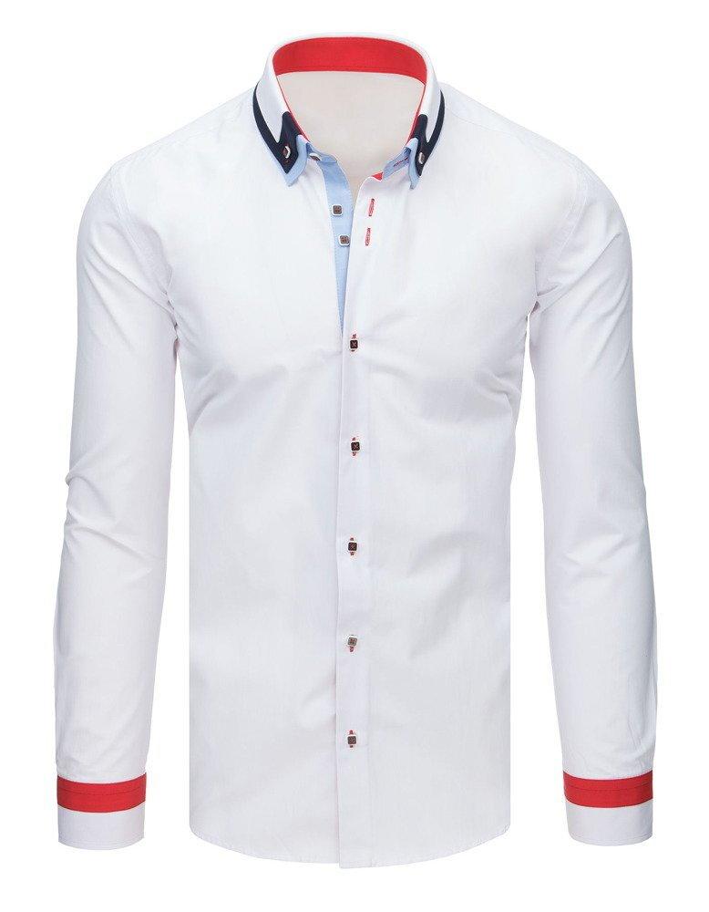 46000fcc8033 Moderná pánska košeľa EGO MAN (dx1637)