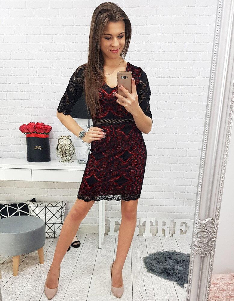 7f99098f7d35 Čierne dámske elegantné šaty (ey0585)