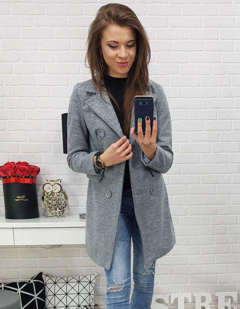 Dámsky šedý kabát (ny0212). PrevNext b683c912e5e