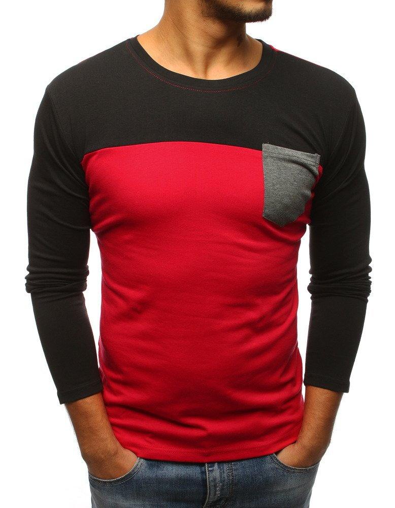 9c9a09649494 Štýlové pánske tričko s dlhým rukávom (lx0480)
