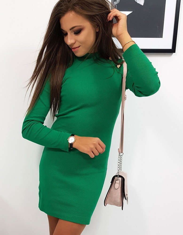 e730cf7a499c Dámske zelené šaty NICOLA (ey0744)