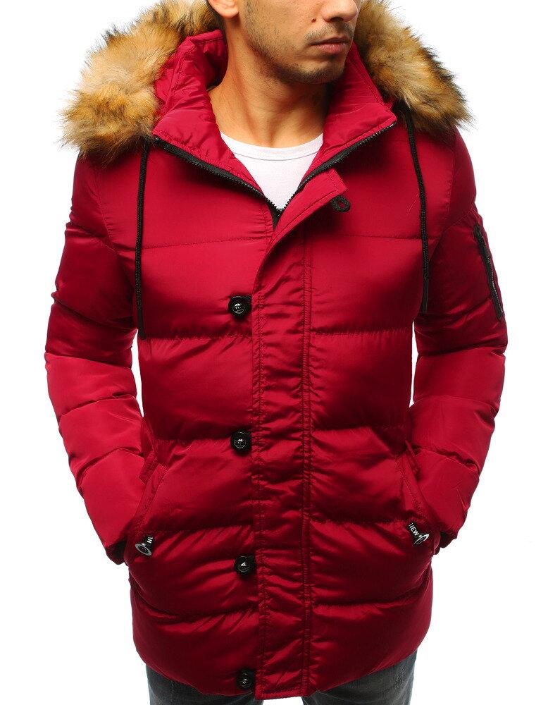 Pohodlná pánska bunda na zimu s kapucňou (tx2516) 35a138e3b36