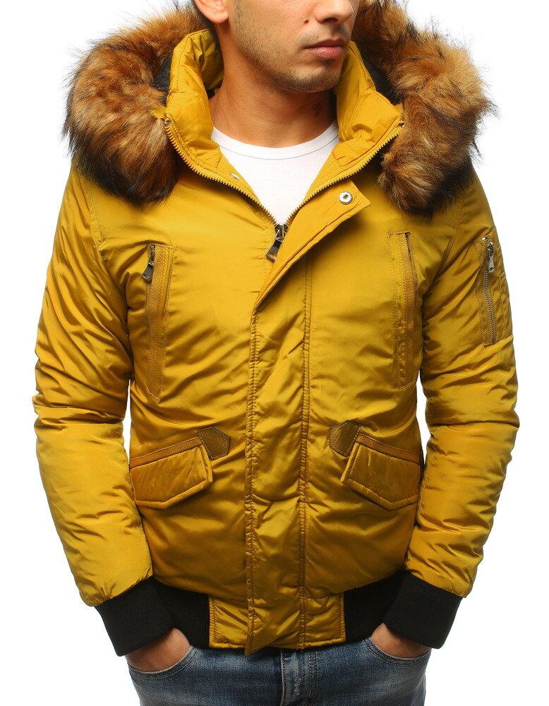 6fbab4229 Pánska zimná bunda s kapucňou (tx2461) skl.