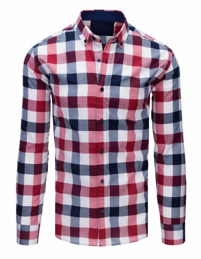 e2ceaa2f5bb0 Károvaná pánska košeľa (dx1656)