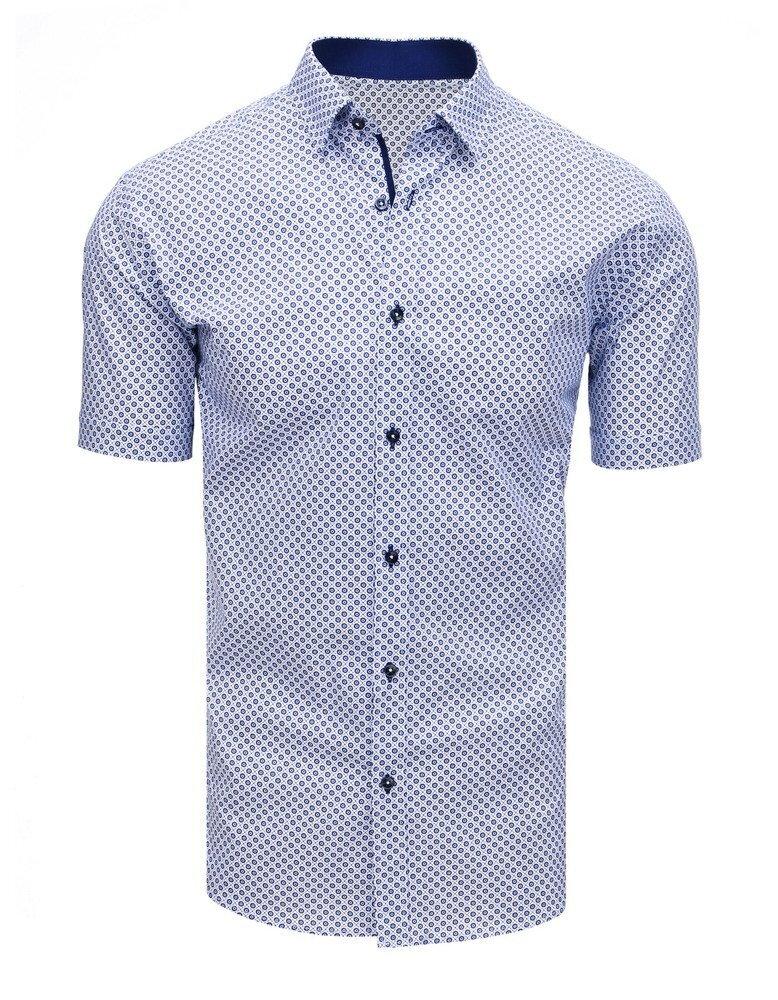 7c91d48c3720 Trendová pánska košeľa s krátkym rukávom.