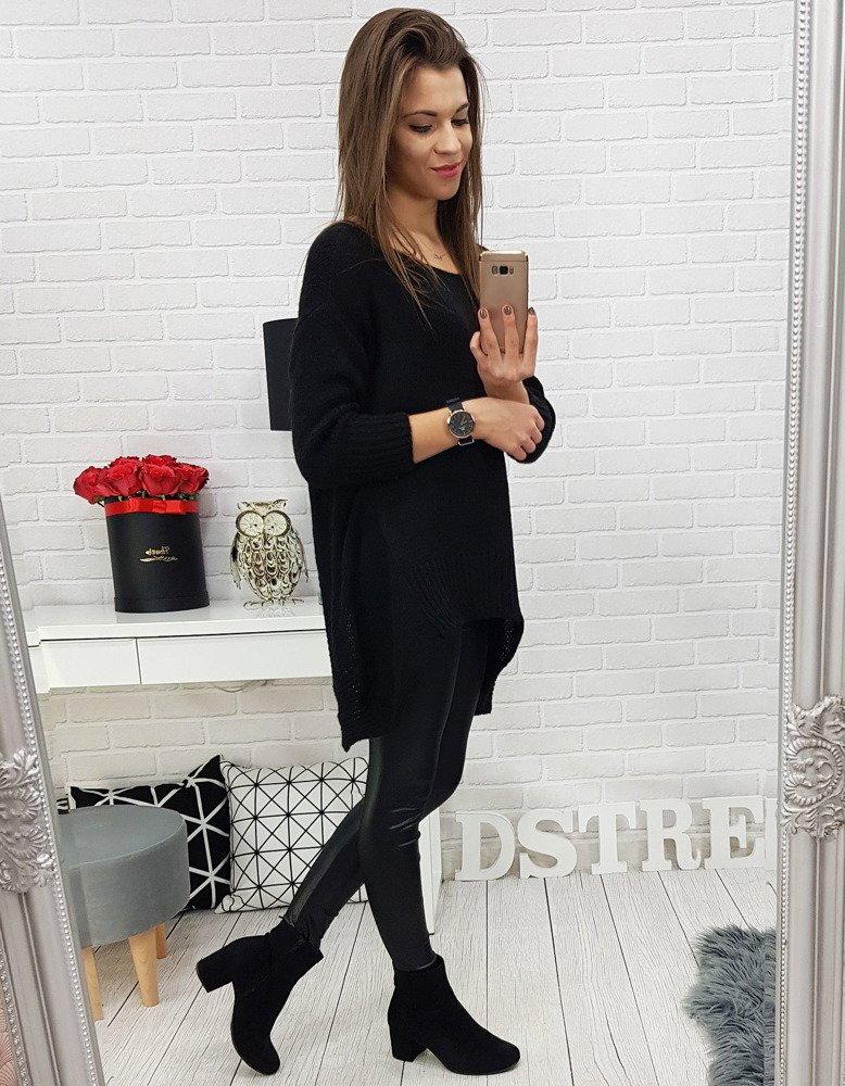 46fcb28379b2 Elegantný dámsky čierny sveter (my0546). PrevNext