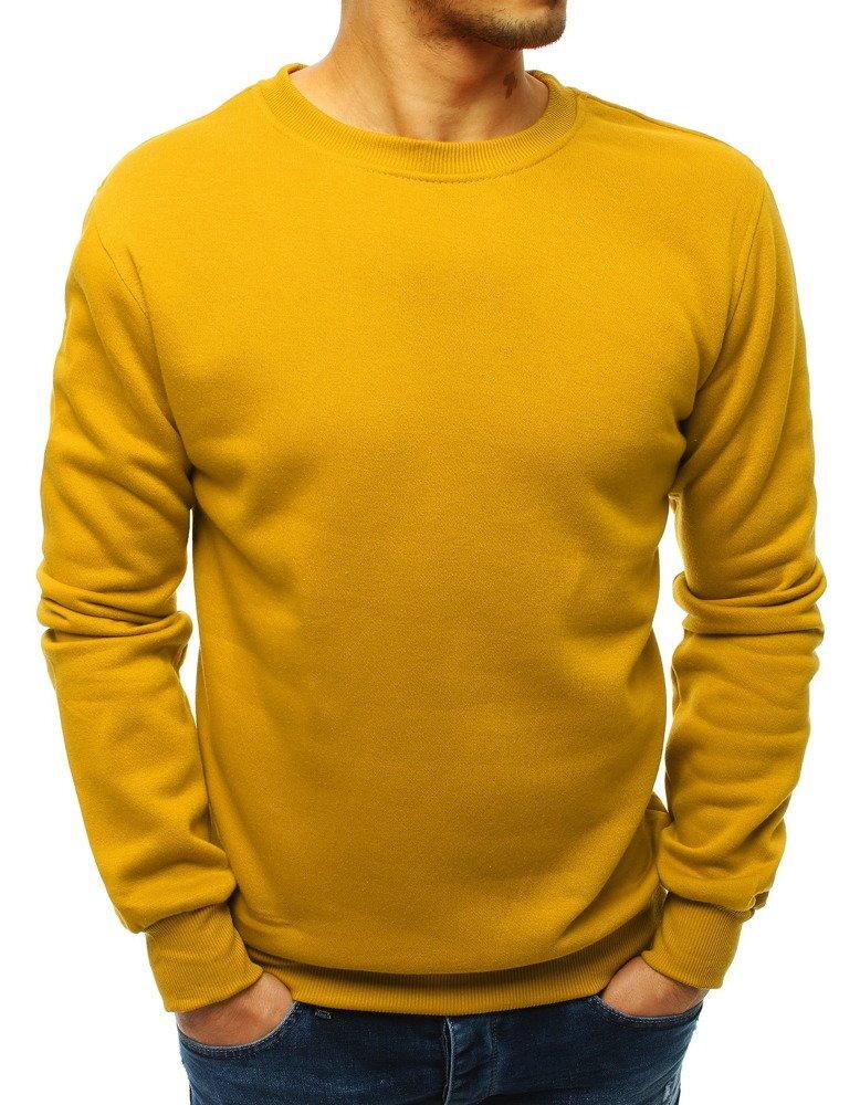 10089fb0c Žltá mikina pre pánov (bx3396)