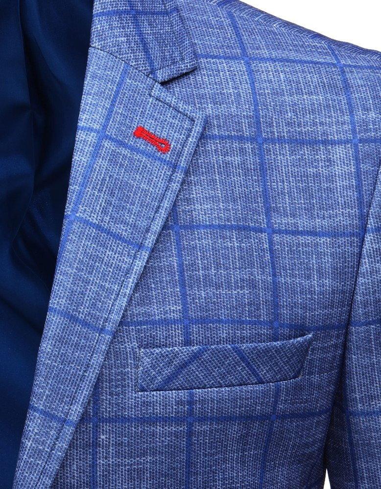 5df5907e7632d Modré pánske sako.