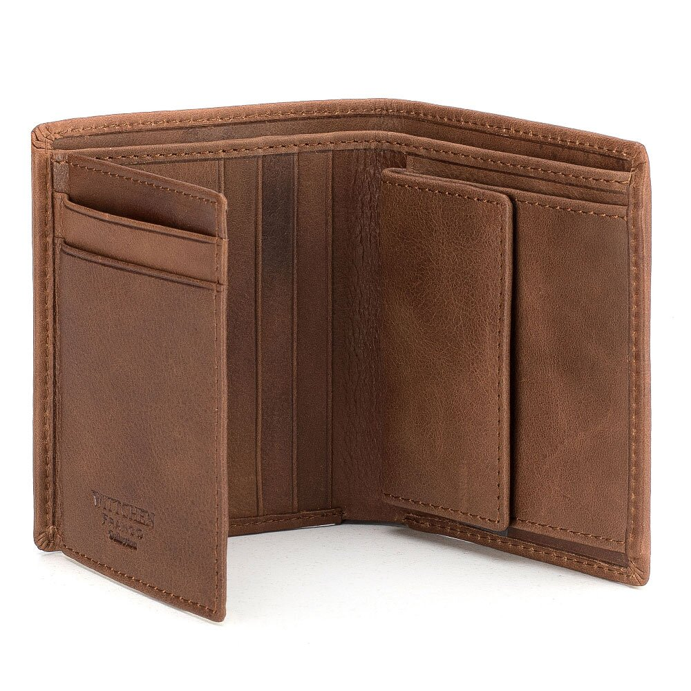 3f8d30c01 Moderná hnedá peňaženka z kolekcie Franco.