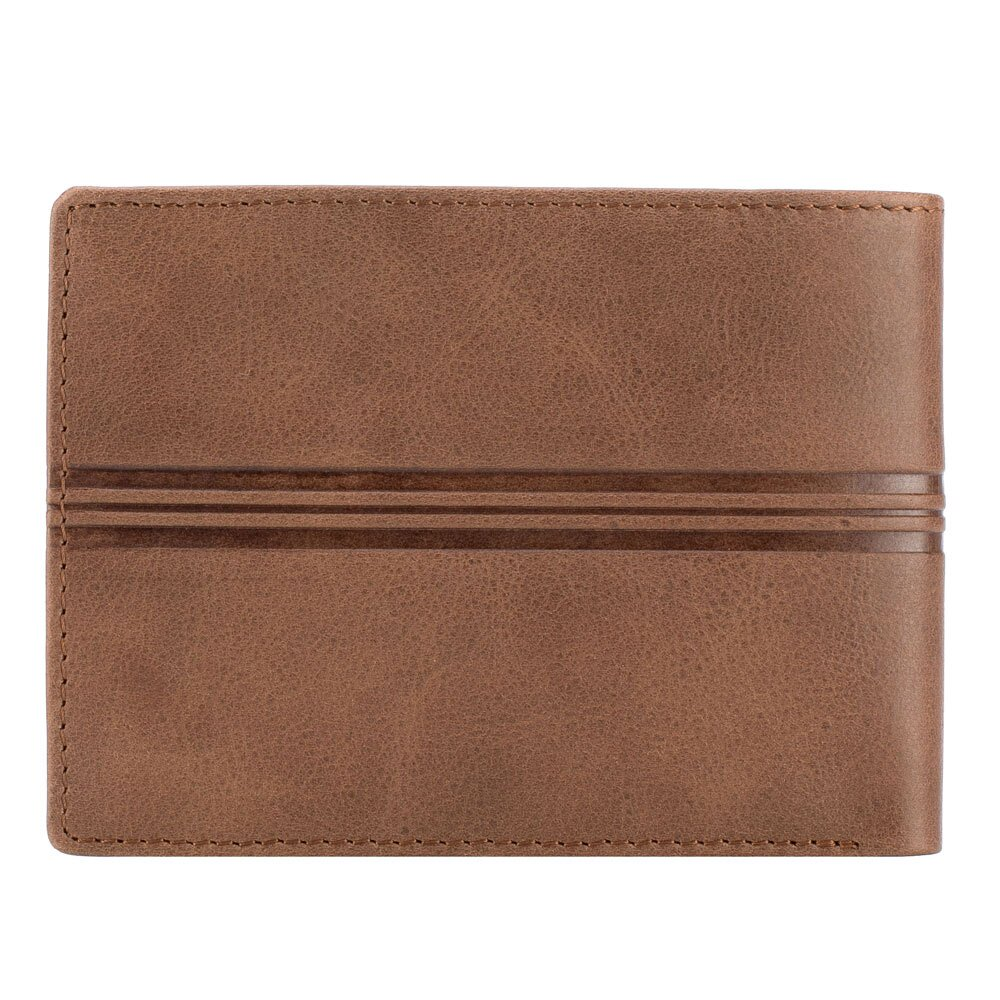 e4176bf2f Hnedá peňaženka bez mincovníka z kolekcie Franco.